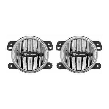 Gravity LED G4 Fog Light Pair Pack System for 2010-2016 Jeep JK