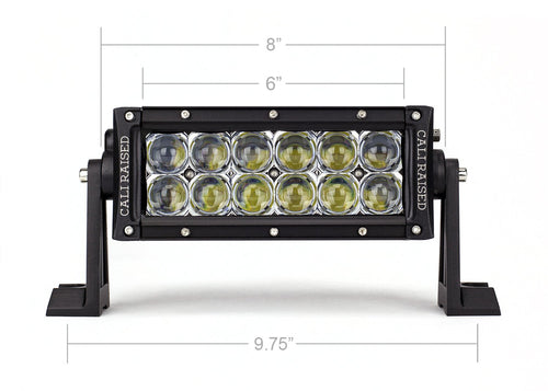 "7.5"" DUAL ROW 5D OPTIC OSRAM LED BAR"