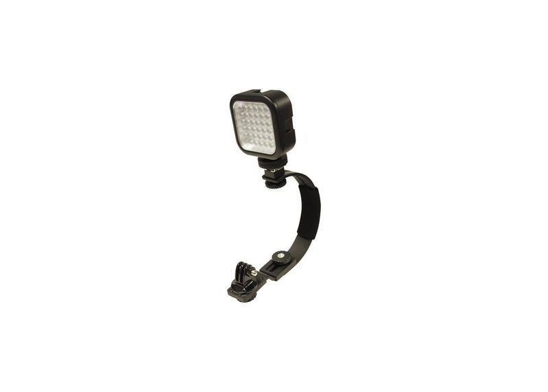 Camera Mount with LED Light and Case by Cobra Electronics - Free Shipping on orders over $100 - Venture Overland Company