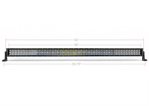 "52"" DUAL ROW 5D OPTIC OSRAM LED BAR"
