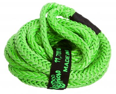 "Voodoo Offroad 1/2"" x 20' UTV Kinetic Recovery Rope- Green - Free Shipping on orders over $100 - Venture Overland Company"