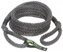 "Load image into Gallery viewer, Voodoo Offroad Truck/Jeep 7/8"" x 20' Kinetic Recovery Rope- Black - Free Shipping on orders over $100 - Venture Overland Company"