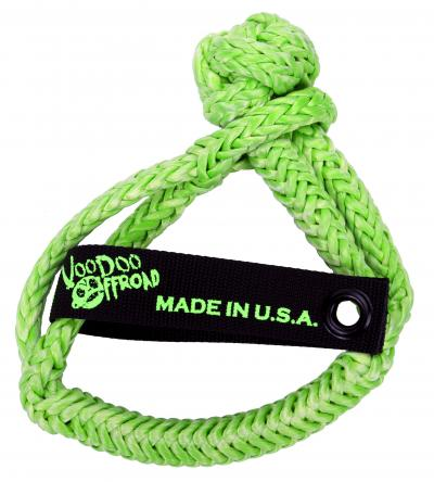 "Voodoo Offroad Soft Winch Shackle 1/2"" X 8"" -Green - Free Shipping on orders over $100 - Venture Overland Company"