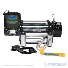 Load image into Gallery viewer, SUPERWINCH LP 10000 12V WINCH - STEEL CABLE - 1510200 - Free Shipping on orders over $100 - Venture Overland Company