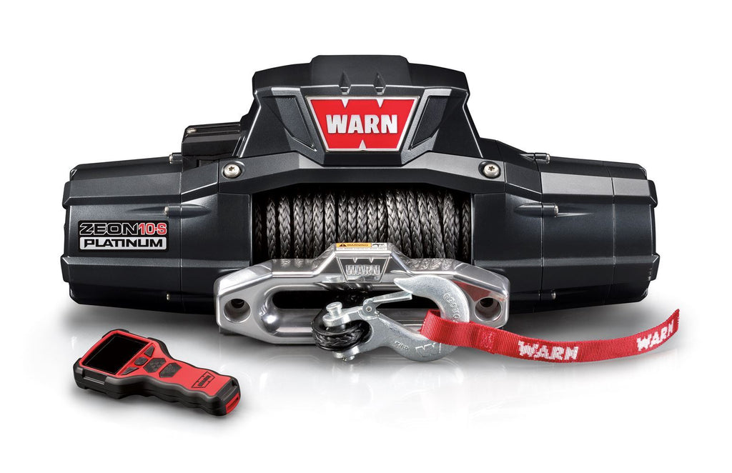 WARN ZEON 10-S PLATINUM WINCH - 92815 - Free Shipping on orders over $100 - Venture Overland Company
