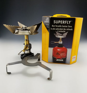 MSR-Gear SuperFly Stove with adapter