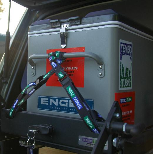 Buffalo Straps, Extreme Duty Fridge & Cargo Tie Down System - Free Shipping on orders over $100 - Venture Overland Company