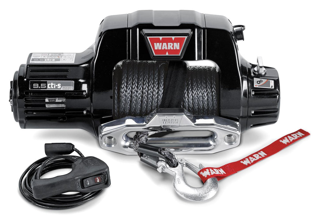 WARN 9.5CTI SYNTHETIC WINCH - 97600 - Free Shipping on orders over $100 - Venture Overland Company