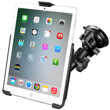 Load image into Gallery viewer, RAM MOUNT SUCTION CUP MOUNT W/APPLE IPAD MINI EZ-ROLL'R CRADLE - Free Shipping on orders over $100 - Venture Overland Company