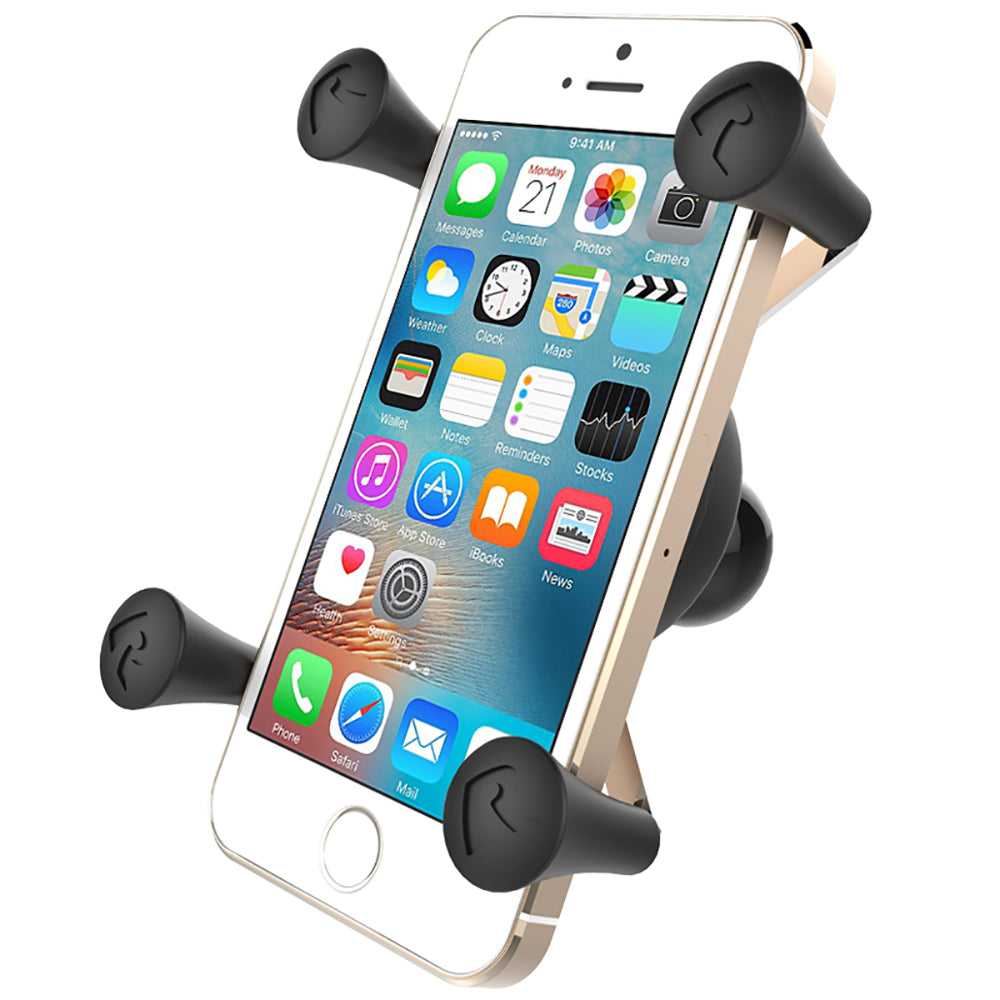 "RAM MOUNTS UNIVERSAL X-GRIP CELL PHONE HOLDER W/1"" BALL - Free Shipping on orders over $100 - Venture Overland Company"