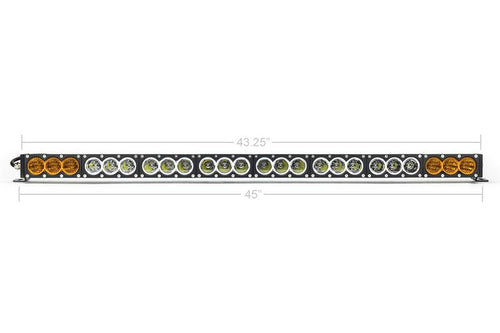 "43"" AMBER/WHITE DUAL FUNCTION LED BAR"