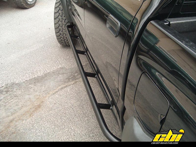 1st Gen Tacoma Rock Sliders with Kick out – Bolt On