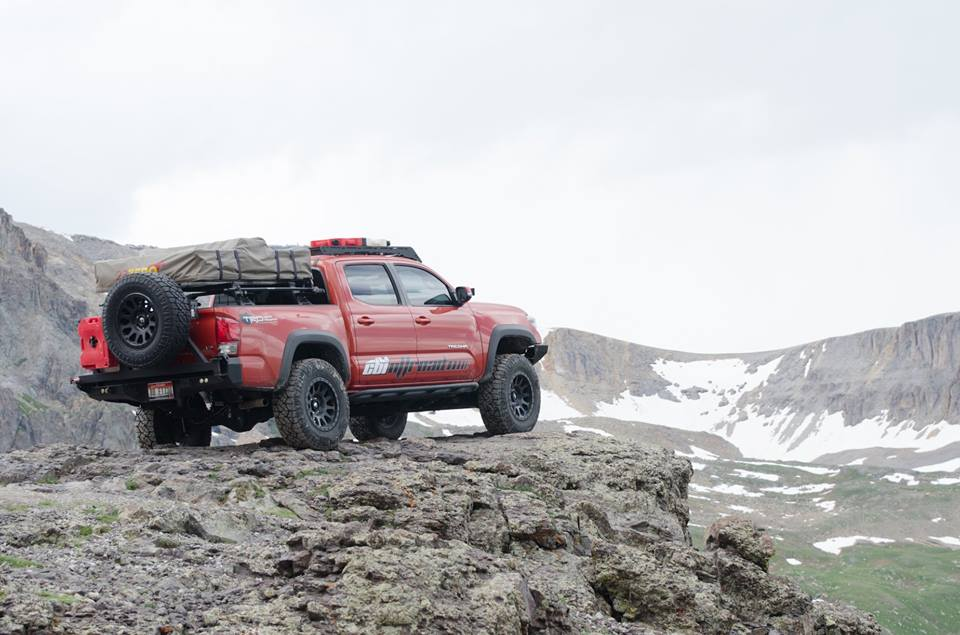 Prinsu 2nd Gen/3rd Gen Toyota Tacoma 2005-Current with Light Bar Options - Free Shipping on orders over $100 - Venture Overland Company