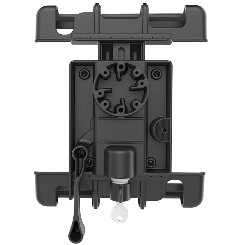 RAM MOUNT TAB-LOCK UNIVERSAL LOCKING CRADLE F/APPLE IPAD W/LIFEPROOF & LIFEDGE CASES - Free Shipping on orders over $100 - Venture Overland Company