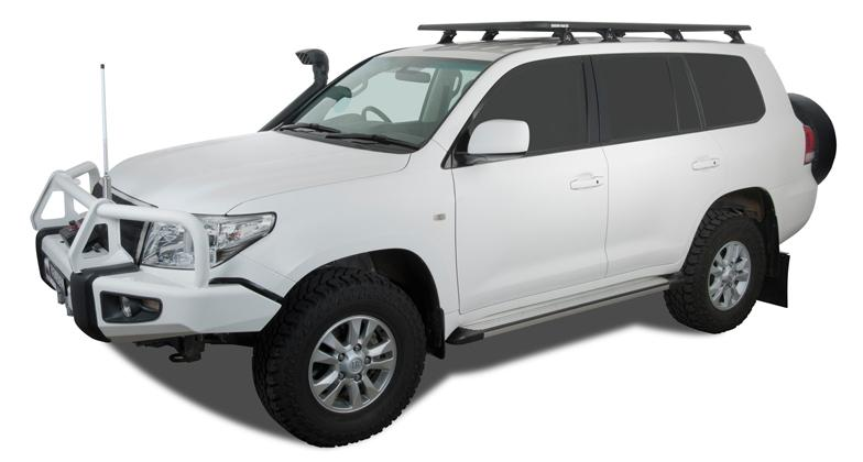 Pioneer Platform 200 Series Land Cruiser Rhino Rack #JB0258 - Free Shipping on orders over $100 - Venture Overland Company