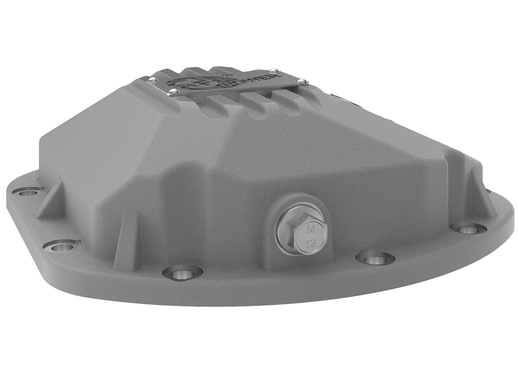 aFe Power Street Series Front & Rear Differential Covers Raw w/Machined Fins(TJ & JK)(Dana 30 & 44) - Free Shipping on orders over $100 - Venture Overland Company