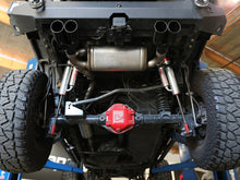 "Load image into Gallery viewer, aFe Power Vulcan Series 2-1/2"" Axle-Back Exhaust System (JK) 07-18 (2/4-Door) - Free Shipping on orders over $100 - Venture Overland Company"