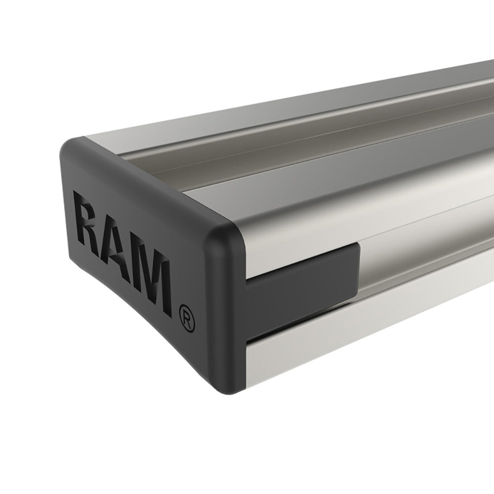 "RAM MOUNT 9"" EXTRUDED ALUMINUM TOUGH-TRACK™ - Free Shipping on orders over $100 - Venture Overland Company"