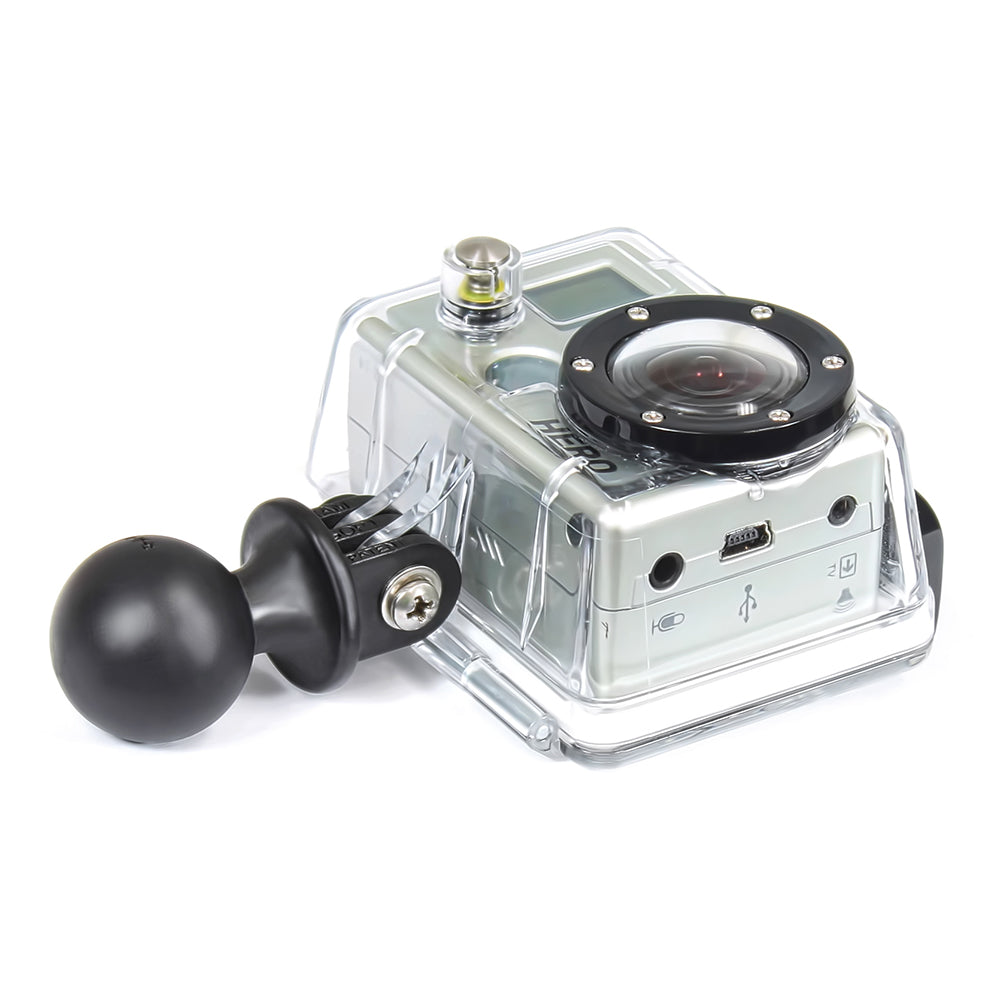 "RAM MOUNT GOPRO ADAPTER W/1"" BALL - Free Shipping on orders over $100 - Venture Overland Company"
