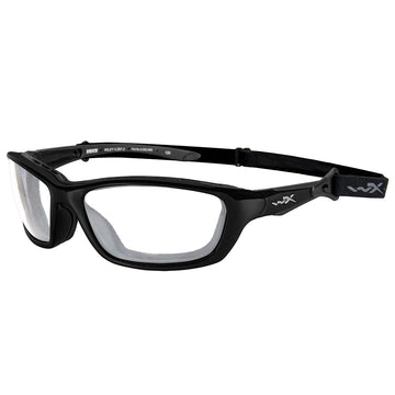 Brick Sunglasses - Clear Lens - Gloss Black Frame
