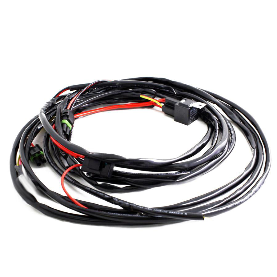 Baja Designs Pro & Sport 2-pin, Hi-beam Harness-2 light max 150 watts - Free Shipping on orders over $100 - Venture Overland Company