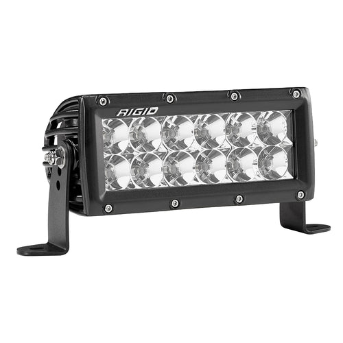 "RIGID INDUSTRIES E-SERIES PRO 6"" FLOOD LED - BLACK"
