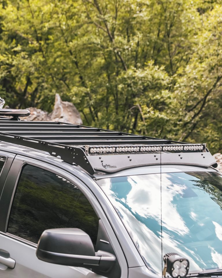 Prinsu 2007-Current 2nd Gen Toyota Tundra CrewMax Cab Rack - Free Shipping on orders over $100 - Venture Overland Company