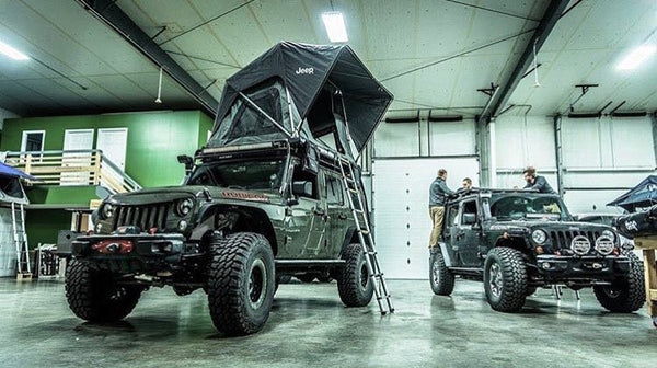 Jeep Roof Top Tent Adventure Series M55 All New