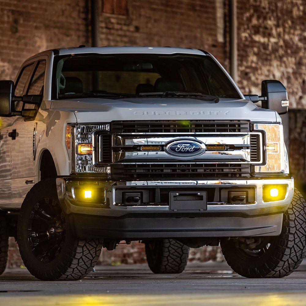 Rigid D-Series SAE Yellow Fog Lights - Free Shipping on orders over $100 - Venture Overland Company
