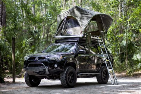 Freespirit Recreation: Adventure Series Automatic 55 Roof Top Tent - Free Shipping on orders over $100 - Venture Overland Company