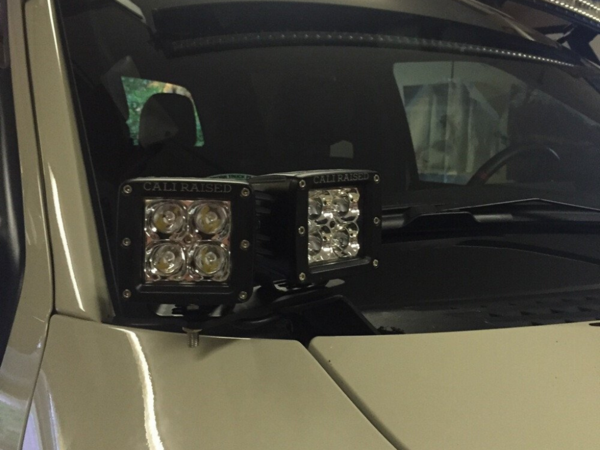 Cali Raised Ditch Light Bracket Extensions - Free Shipping on orders over $100 - Venture Overland Company