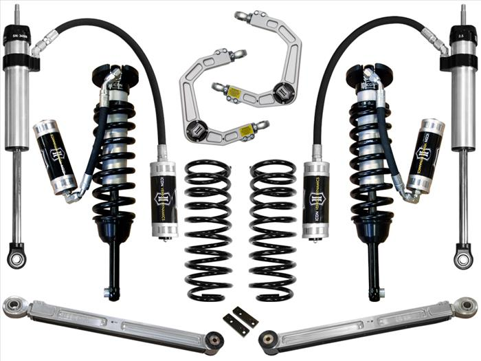 "03-09 4RUNNER/FJ 0-3"" STAGE 5 SUSPENSION SYSTEM W/ UCA - Free Shipping on orders over $100 - Venture Overland Company"