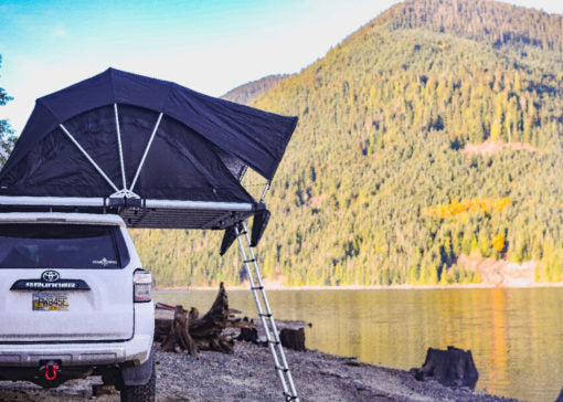 High Country Series 80″ Tri-Layer Roof Top Tent