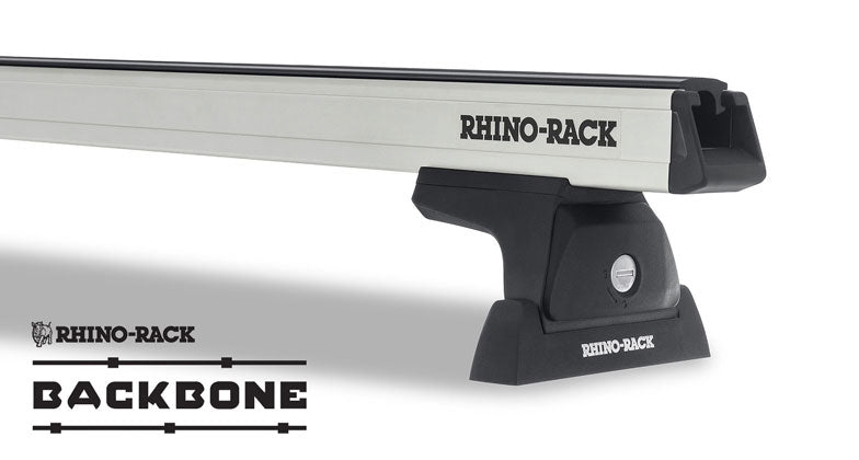 Heavy Duty RLT600 Silver 2 Bar Rhino-Rack Backbone Roof Rack  # JA6387