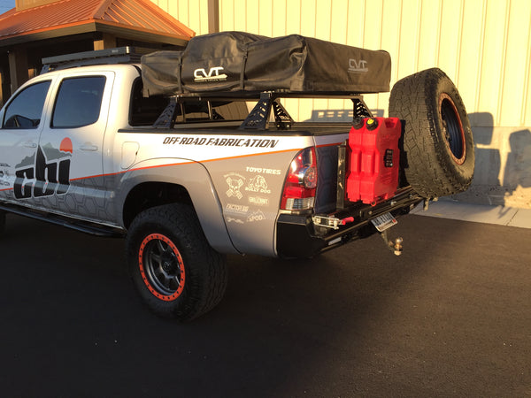2nd Gen Tacoma Roof Top Tent Bed Mounts Venture Overland Company