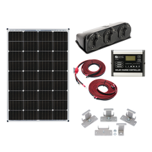 Load image into Gallery viewer, Zamp Solar 115-Watt Roof Mount Kit - Free Shipping on orders over $100 - Venture Overland Company