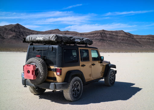 Jeep Roof Top Tent Adventure Series M49 Venture Overland Company