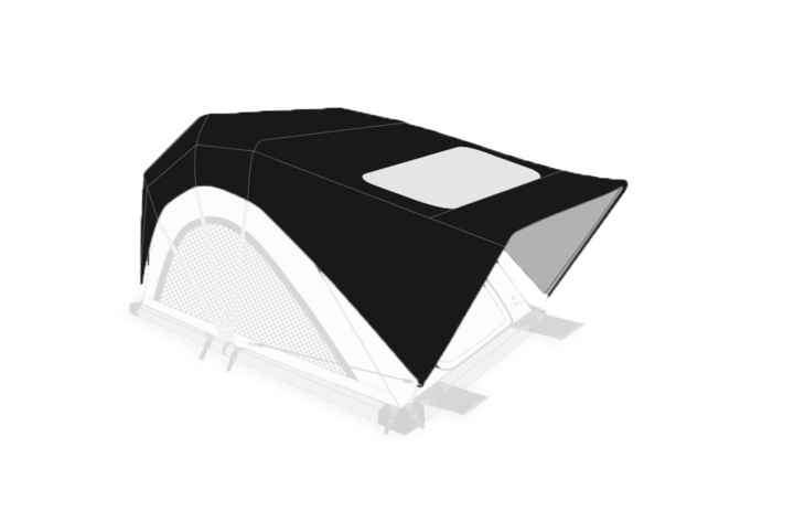 "Freespirit Recreation High Country 55"" Roof Top Tent Rainfly - Free Shipping on orders over $100 - Venture Overland Company"
