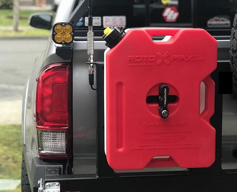 RotoPax 2 Gallon Gasoline GEN 2 - Free Shipping on orders over $100 - Venture Overland Company