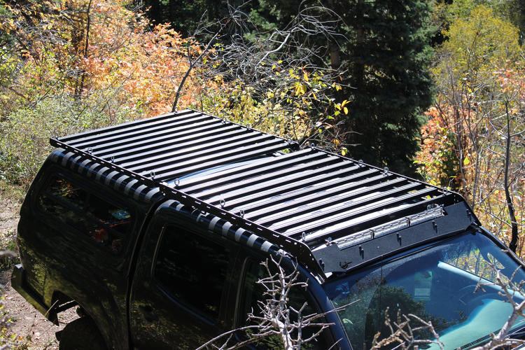Prinsu 2nd Gen/3rd Gen Toyota Tacoma 2005-Current Short 5' Bed Top Rack - Free Shipping on orders over $100 - Venture Overland Company