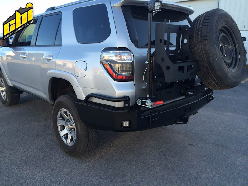 5th Gen Toyota 4Runner Rear Bumper | 2014-2020 - Free Shipping on orders over $100 - Venture Overland Company