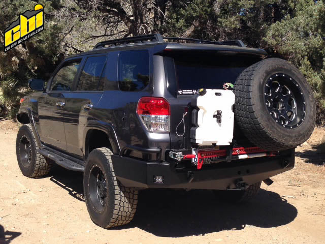 Toyota 5th Gen 4Runner Rear Bumper - Free Shipping on orders over $100 - Venture Overland Company