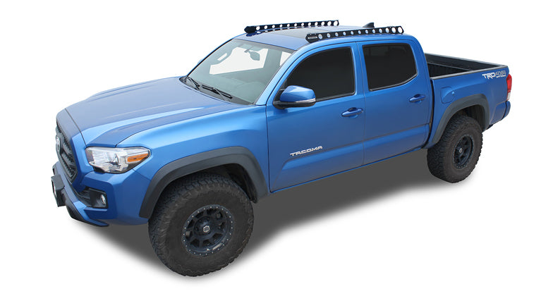 Pioneer Platform Tacoma Double Cab Rack Rhino Racks #JA9016 - Free Shipping on orders over $100 - Venture Overland Company