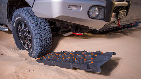 ARB TRED PRO RECOVERY BOARDS- BLACK - Free Shipping on orders over $100 - Venture Overland Company