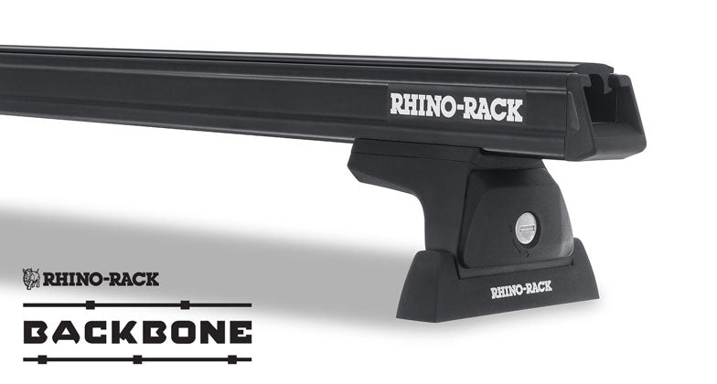 Heavy Duty RLT600 Black 3 Bar Rhino-Rack Backbone Roof Rack  #JA6392