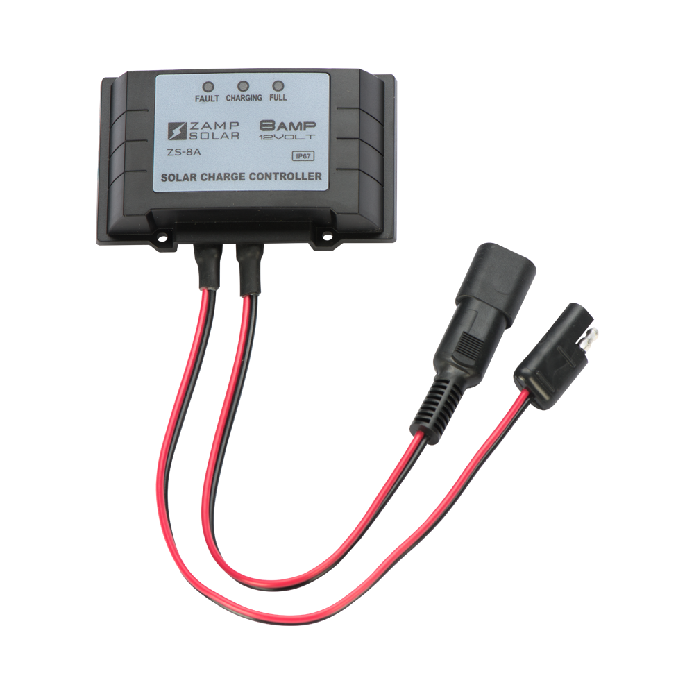 Zamp Solar 8-Amp Maintainer Controller - Free Shipping on orders over $100 - Venture Overland Company