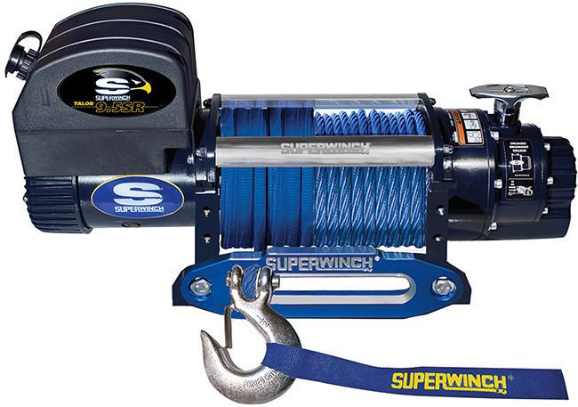 SUPERWINCH TALON 9.5SR 12V WINCH - SYNTHETIC ROPE - 1695201 - Free Shipping on orders over $100 - Venture Overland Company