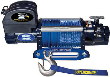 SUPERWINCH TALON 9.5SR 12V WINCH - SYNTHETIC ROPE - 1695201