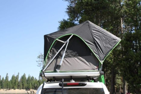 Adventure Series Automatic Soft-Top 49″ Roof Top Tent