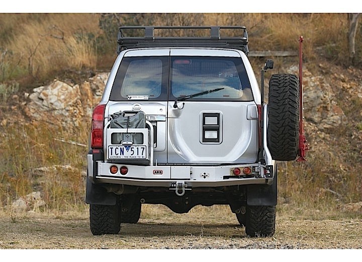 ARB Rear Left Wheel Carrier Option (Black) - 5700251 - Free Shipping on orders over $100 - Venture Overland Company